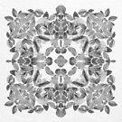 Snakeskin Leaf Kaleidoscope by Alyson Fennell