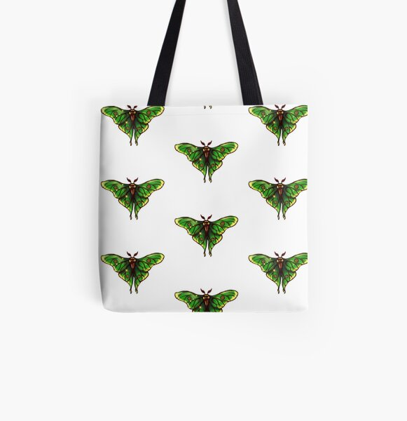 Spanish Luna Moth All Over Print Tote Bag