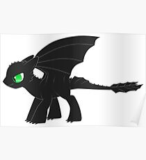 MLP Toothless Poster