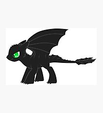 MLP Toothless Photographic Print