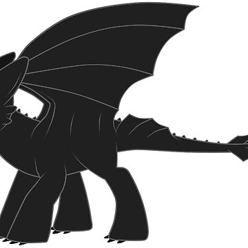 MLP Toothless by MegzWills