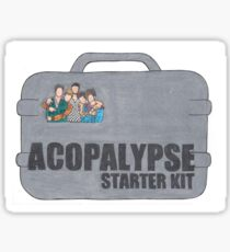 Why Don't We Acopalypse Sticker