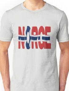 Norway flag Unisex T-Shirt