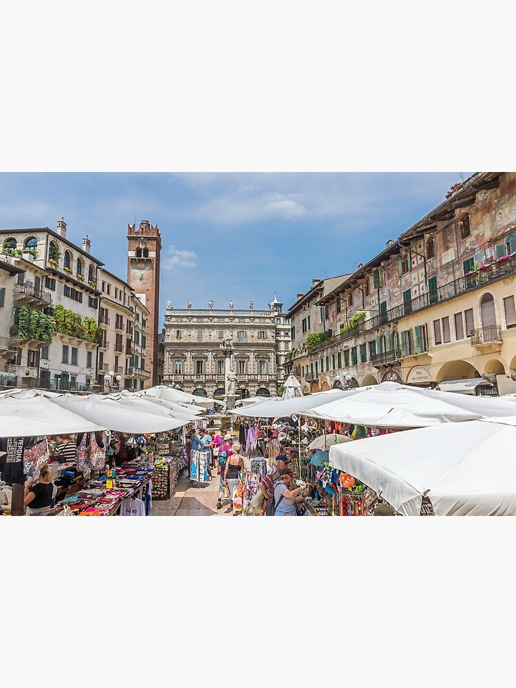 Verona Piazza Erbe by tdphotogifts