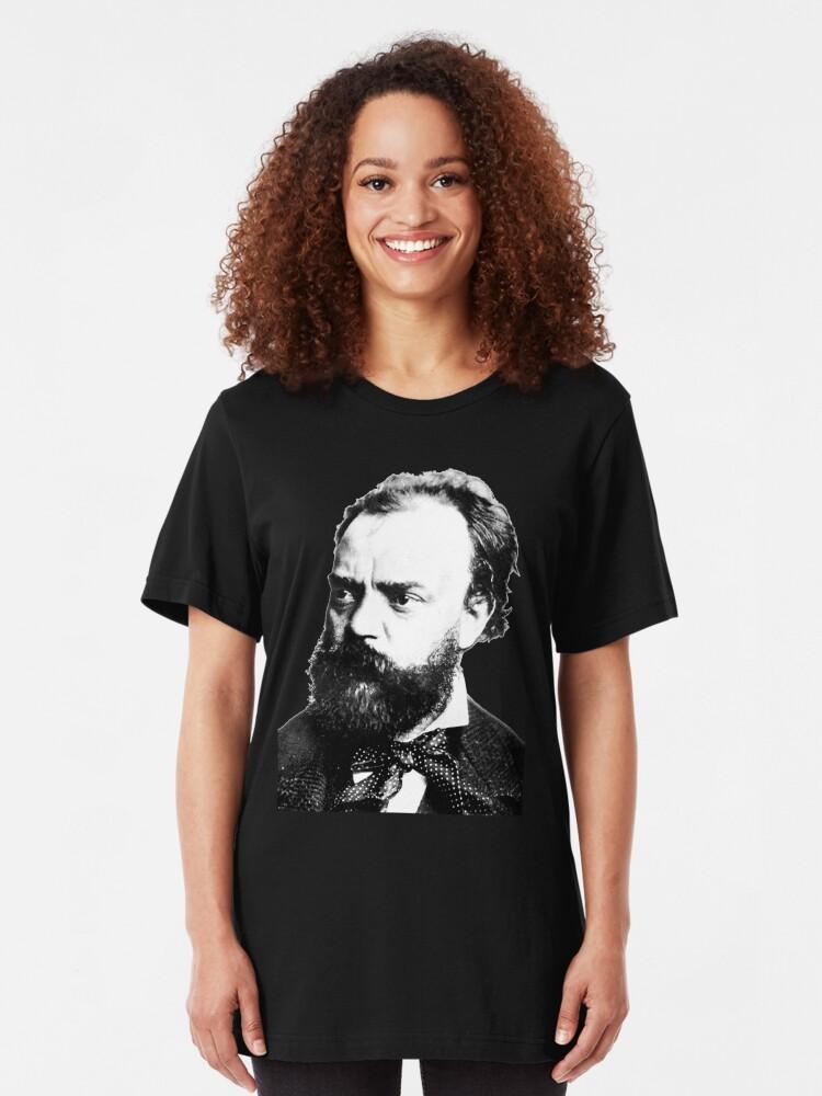 Alternate view of Antonín Leopold Dvořák Slim Fit T-Shirt