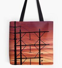 Vegas Powerlines Tote Bag