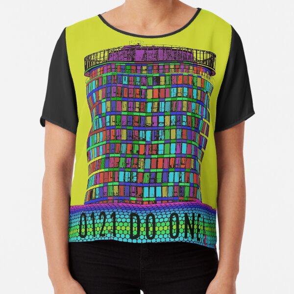 0121 Do One and Birminghams Rotunda Chiffon Top