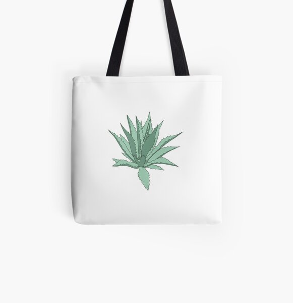 Agave All Over Print Tote Bag
