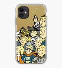 Fallout - Vault-Tec Boys (Color edition) iPhone Case