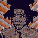SAMO Line portrait (Jean-Michel Basquiat) by Studio-CFNW11
