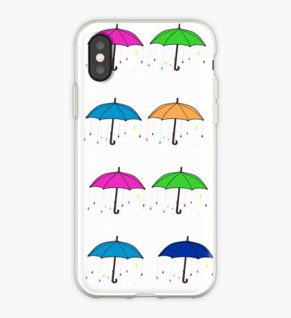 Colorful Umbrellas iPhone Case
