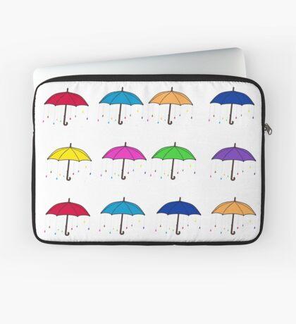 Colorful Umbrellas Laptop Sleeve