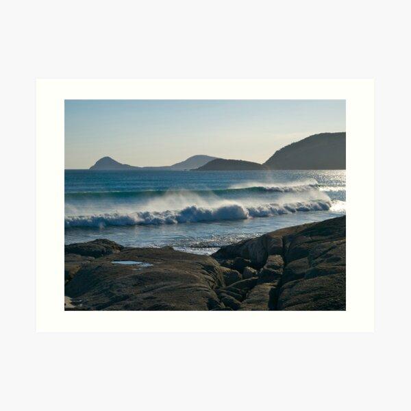 Wilson Promontory, Evening surf. Art Print