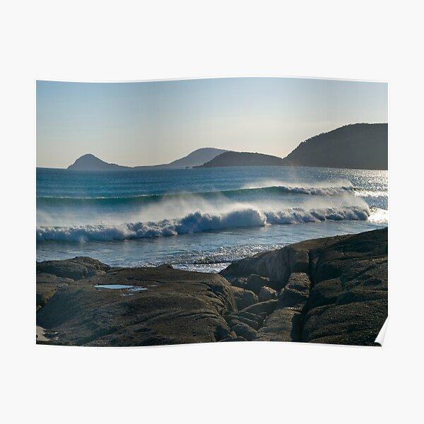 Wilson Promontory, Evening surf. Poster