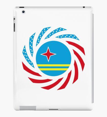 Aruban American Multinational Patriot Flag Series iPad Case/Skin