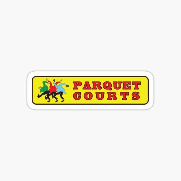 parquet courts logo Sticker