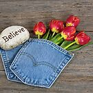 Inspirational Jean Pocket by Maria Dryfhout