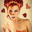 Leaves Are Falling by Jennifer Rhoades