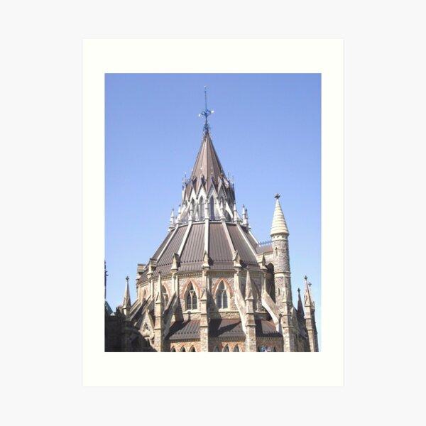 Library of Parliament, Ottawa, Ontario Art Print