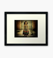 Sad Girl  Framed Print