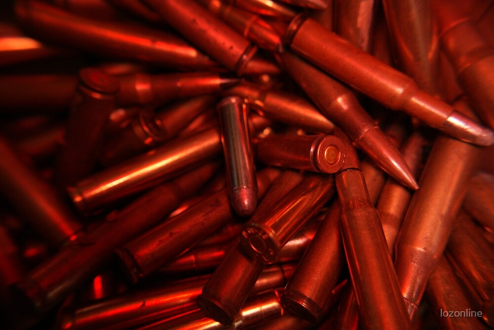 Blood Red Ammo! by lozonline
