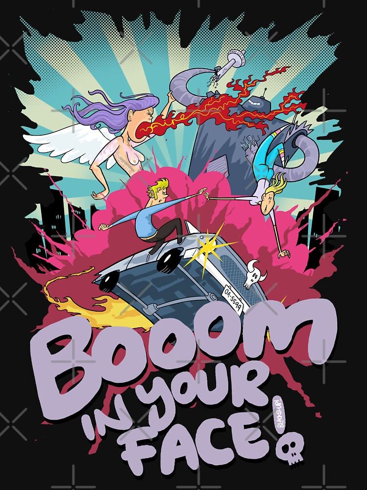 Booom In Your Face by blacksoup