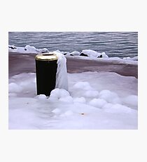 Frozen Bin  Photographic Print
