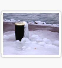 Frozen Bin  Sticker