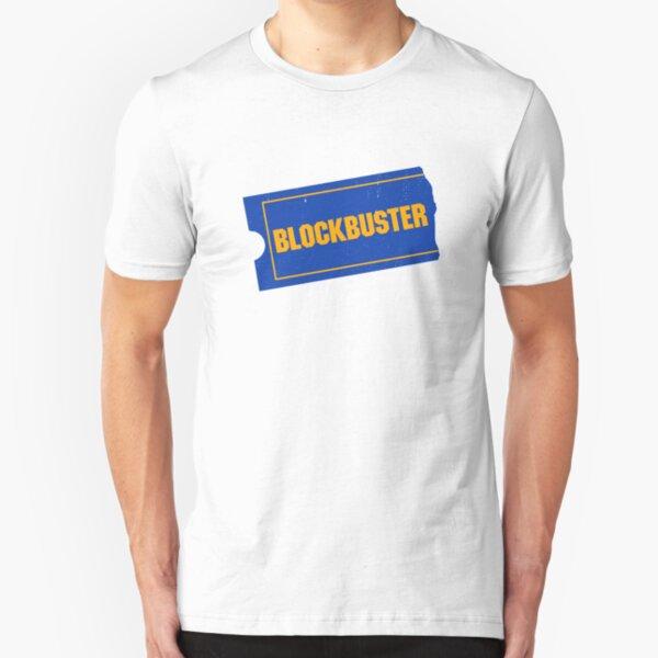 Blockbuster Video Logo Slim Fit T-Shirt