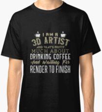 3D ARTIST Classic T-Shirt 9955ee97c