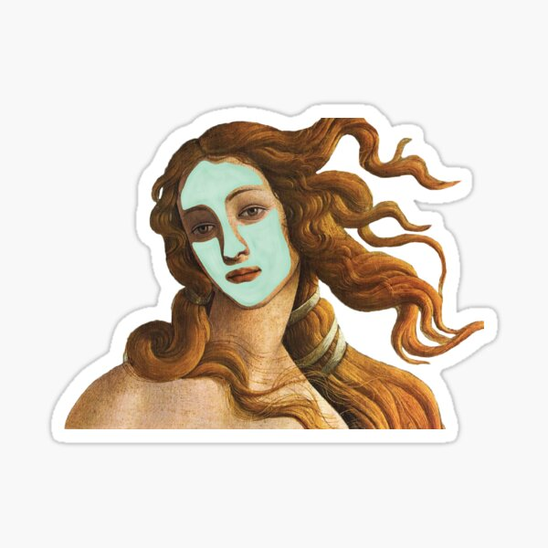 The Birth of Skin Care Sticker