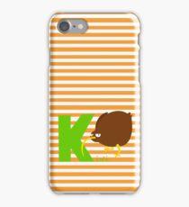 k for kiwi iPhone Case/Skin