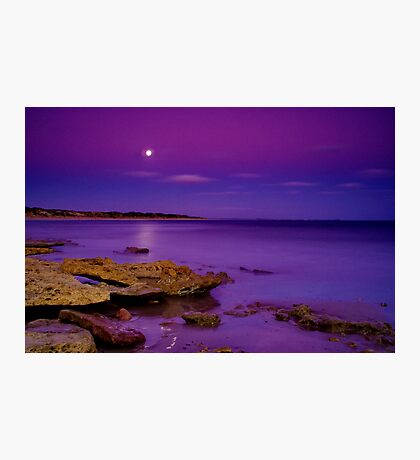 """""""Impossible Moonlight Encounter"""" Photographic Print"""