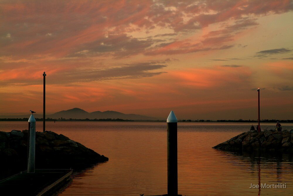 Sunset Limeberners Point,Geelong by Joe Mortelliti