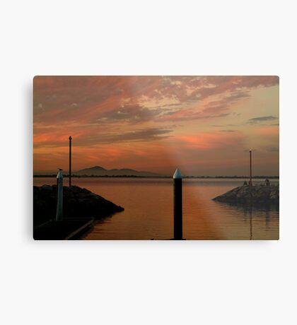 Sunset Limeberners Point,Geelong Metal Print