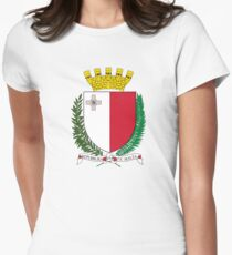 Coat of Arms of Malta Women's Fitted T-Shirt