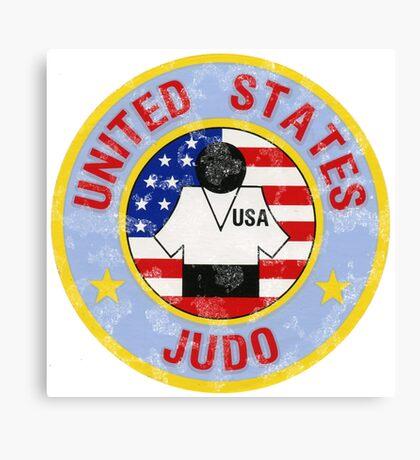 JUDO U.S.A. American Judo Canvas Print