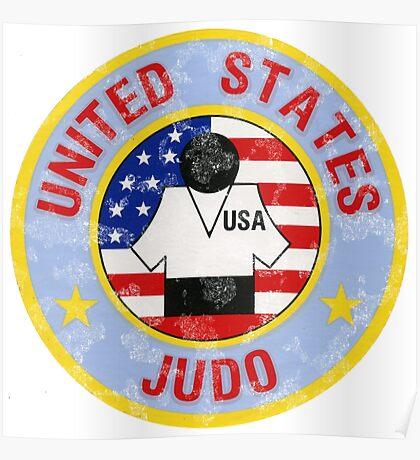 JUDO U.S.A. American Judo Poster