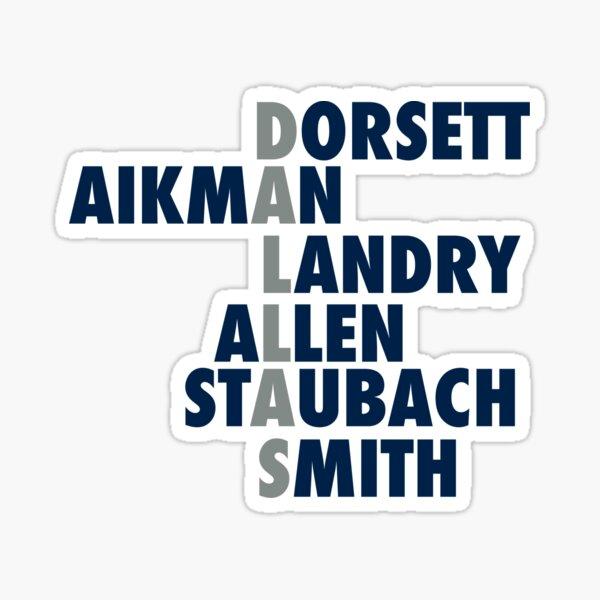 Dallas Cowboys Greats Sticker