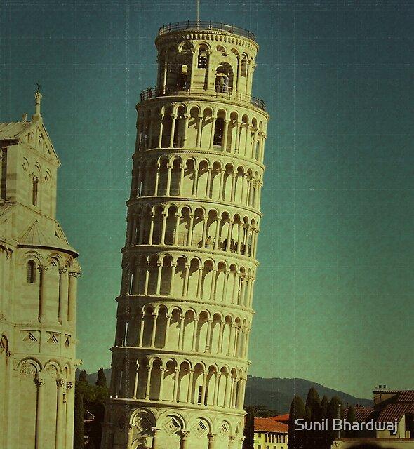The Leaning Tower of Pisa by Sunil Bhardwaj
