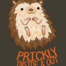 Prickly Hedgehog by michelledraws