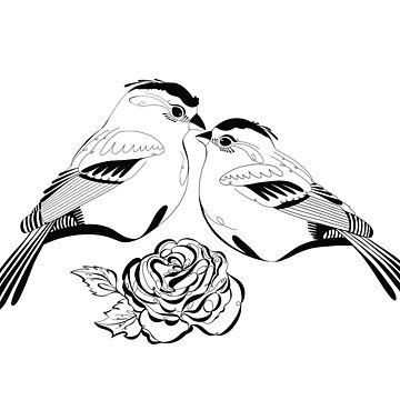 Lovebirds by madaramason