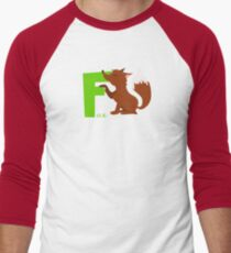 f for fox Men's Baseball ¾ T-Shirt