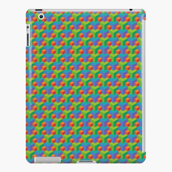 3D Block Pattern  iPad Snap Case
