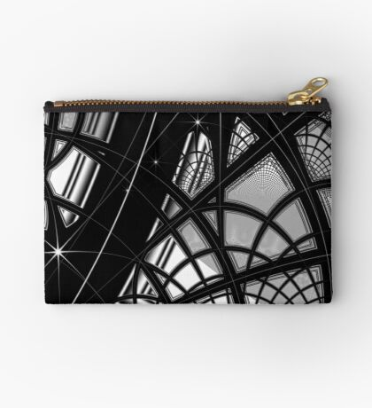 Monochrome Pattern 008 Zipper Pouch