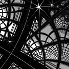 Monochrome Pattern 008 by Rupert Russell