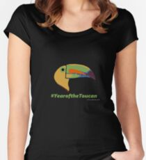 Year of the Toucan! Fitted Scoop T-Shirt