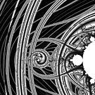Monochrome Mandelbrot  2018-12-29-016 by Rupert Russell