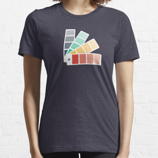 Designer Color Swatch Book Essential T-Shirt