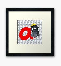 a for ape Framed Print
